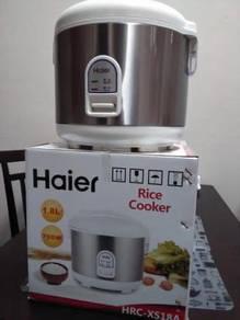 Haier rice cooker 1.8L