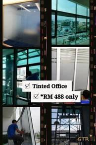 Tinted Tingkap Rumah Office