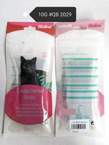 Bioline Catnip Dental Stick Cat 10gram Kucing