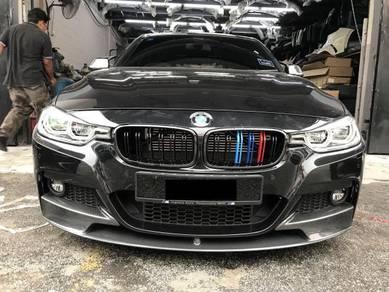 BMW F30 M performance Carbon front lip