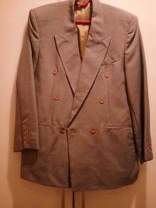 Franco Nanini Italian Double Breasted Suit Jacket
