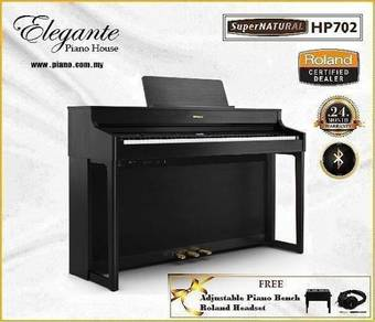 Roland HP-702 Ch/Dr SuperNATURAL Digital Piano