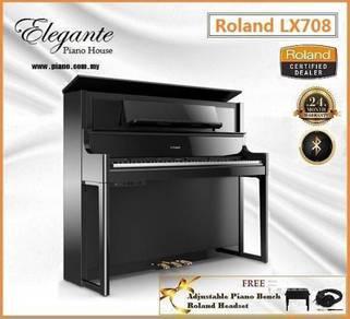 Roland LX-708 Luxury Hybrid Digital Piano