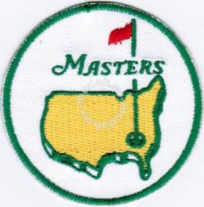 Augusta The US Masters Tournament PGA Golf R Patch