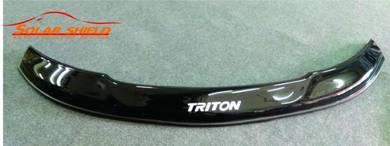Mitsubishi Triton Front Bonnet Guard Bonnet Visor