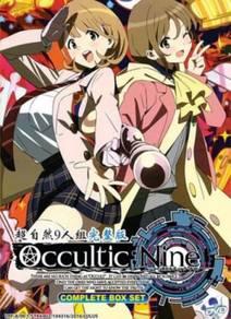 DVD ANIME Occultic;Nine Vol.1-12End