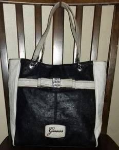 Tote Bag Ostrich Printed Leather GUESS