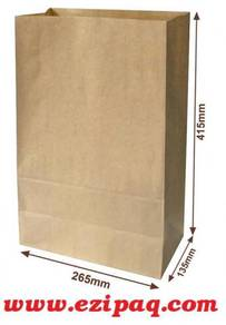 Packie Kraft Paper Bag L size (100pcs)