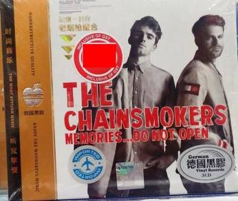 IMPORTED CD The Chainsmokers Memories Do Not Open