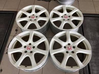 18 inch Honda Civic FD2R OEM Rim 114.3x5