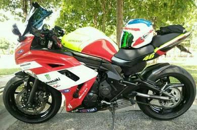 Kawasaki er6f 2013