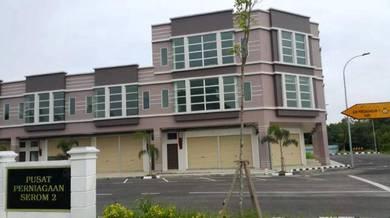 New 1st Floor Shop Office at Pusat Perniagaan Serom 2, Muar, Johor