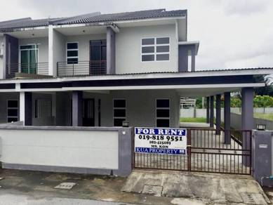 New Double Storey Terrace Corner House For Rent At Sungai Tapang