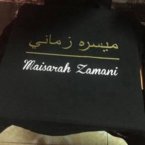 Custom jawi t-shirt 09