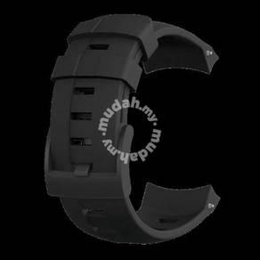 17 rag suunto ambit3 vertical black silic. strap