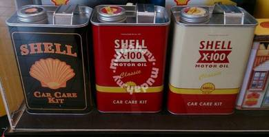 Shell Heritage Canisters Car Care Kit FREE Quechua