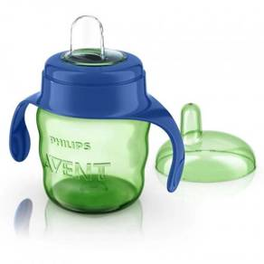 Philips Avent Easy Sip Spout Cup 200ml Green Blue