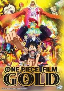DVD ANIME ONE PIECE FILM Gold The Movie