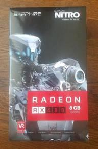 Nitro+ SAPPHIRE Radeon RX 480 OC 8GB