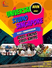 Erwin travel-universal studio singapore package