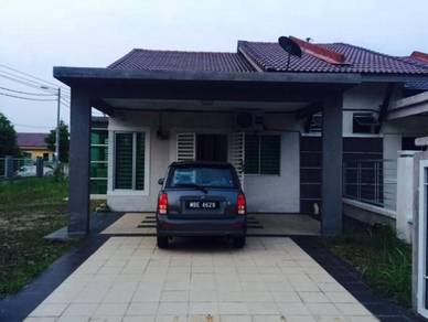 Single storey corner bandar sri sendayan