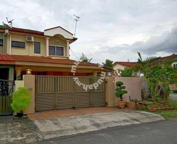 2 Storey Corner House For Sale At Bercham Area