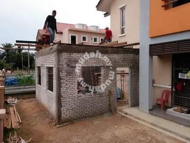 Sambung Dapur Dan Rumah Taman Puncak Jalil