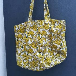 ( FREE POSTAGE) H&M; Yellow Banana Tote Bag