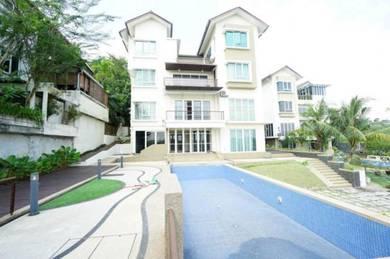 4 Storey Bungalow Kayangan Heights Shah Alam For Sale
