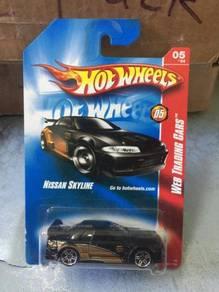 Hotwheels Card Nissan Skyline R32