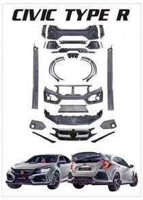 Honda Civic Fc Type R FK8 PP Bodykit Conversion