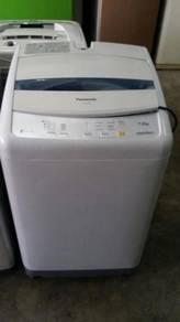 Washer Automatic Panasonic Mesin Basuh Machine Top