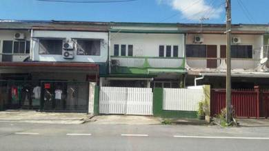 Double Storey Terrace Green Road area - Very Well Maintained