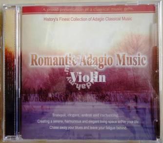 Classic Music CD Romantic Adagio Music Violin