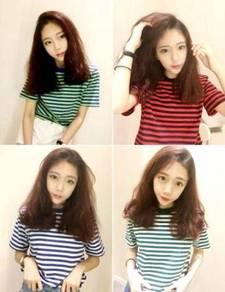 5537 T-shirt Horizontal Stripes