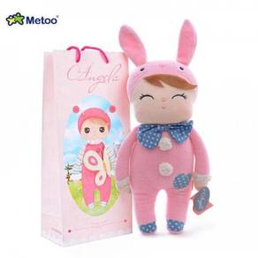 Angela MeToo Soft Plush Toy with Paper bag-PINK