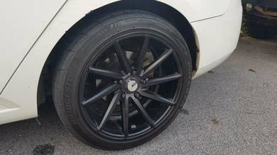 17 Inch Swap with Kia Forte Original rims or other