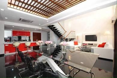 {freehold}fully renovated & furnished duplex penthouse impiana ampang