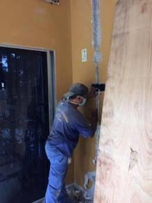 Pemasangan wiring rumah pejabat kedai dll