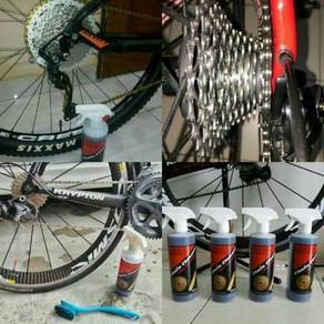 Bicycle chain cleaner and chain lube