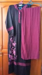 Jubah + shawl