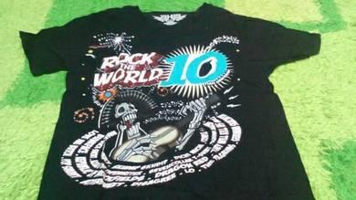 Tshirt Rock The World 2010
