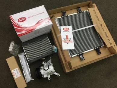 Myvi Full Set Aircon Parts _ Fullset Aircond AC