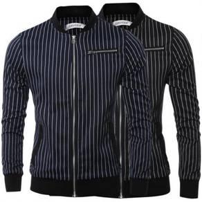 6438 Design Band Collar Slim Fit Men's Jacket