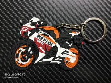 Keychain Getah Honda Cbr Repsol Marquez 93
