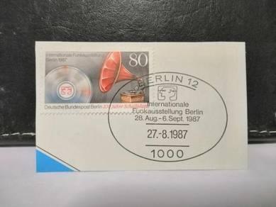 1987 Germany Stamp Vinyl Music Record
