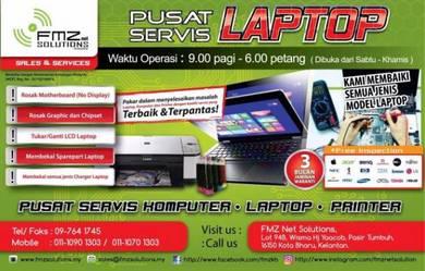 Perkhidmatan Repair dan Servis Laptop Komputer