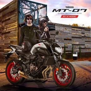 Yamaha mt-07 promosi hebat deposit rendah