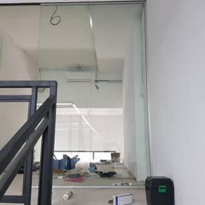 PINTU KACA KALIS PECAH l glass door