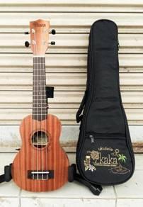 Kaka KUS-20, Soprano Ukulele W/Bag